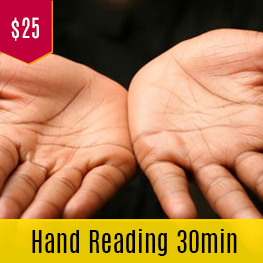 hand reading in melbourne